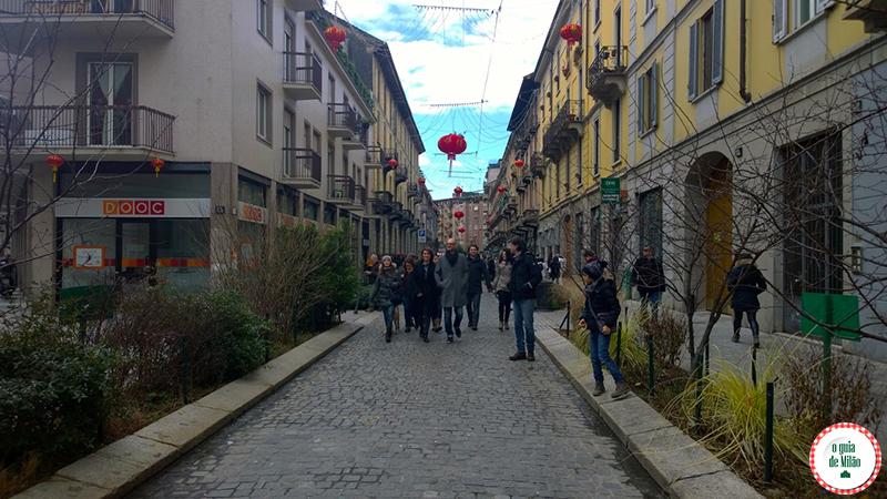 os melhores bairros de Milão Chinatown