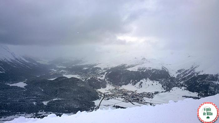 outras cidades ao redor de Milão Saint Moritz na Suíça