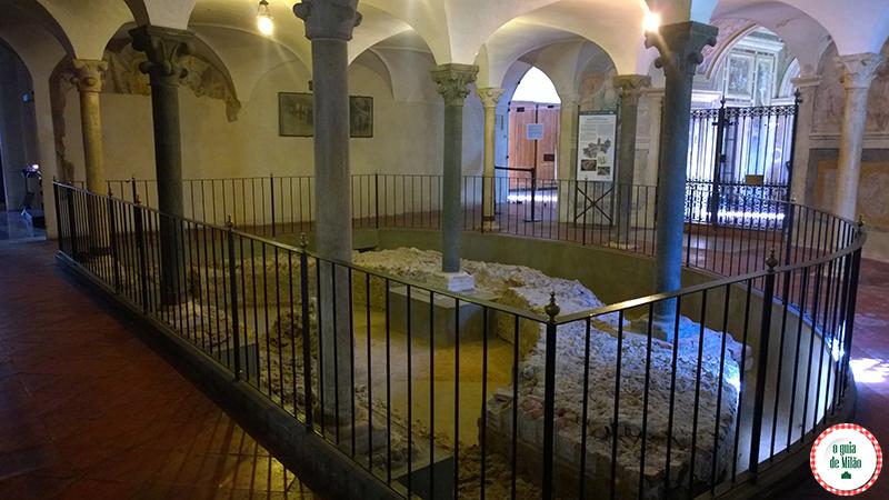 Igrejas de Milão a Basílica de Sant'Eustorgio