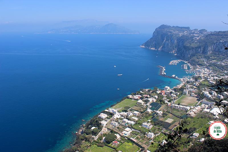 Como chegar a Capri os barcos com destino a Capri