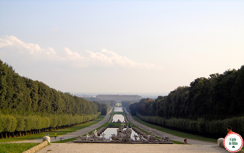 Como ir de Roma a Caserta Palácio Real de Caserta os malhores pálacios da Itália