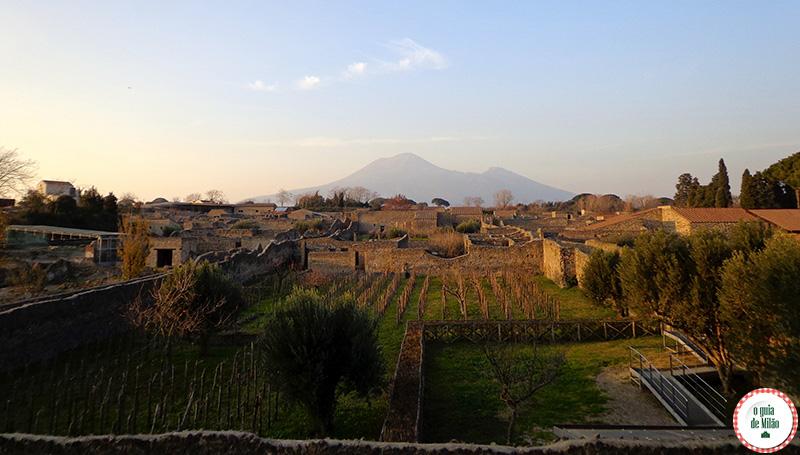 Como ir de Roma a Pompeia A Tragédia de Pompéia