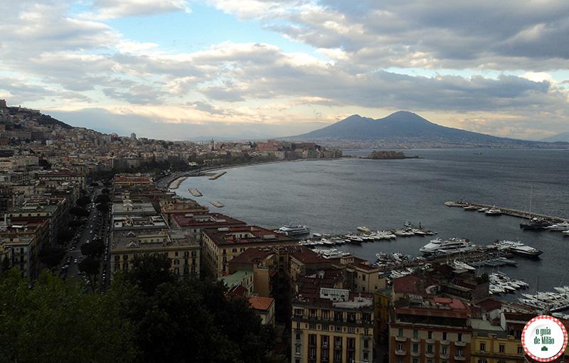 Como ir de Roma a Nápoles Vesúvio vulcão de Nápoles