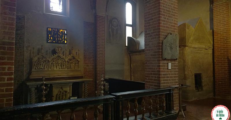Igrejas em Milão Basílica de Sant'Eustorgio