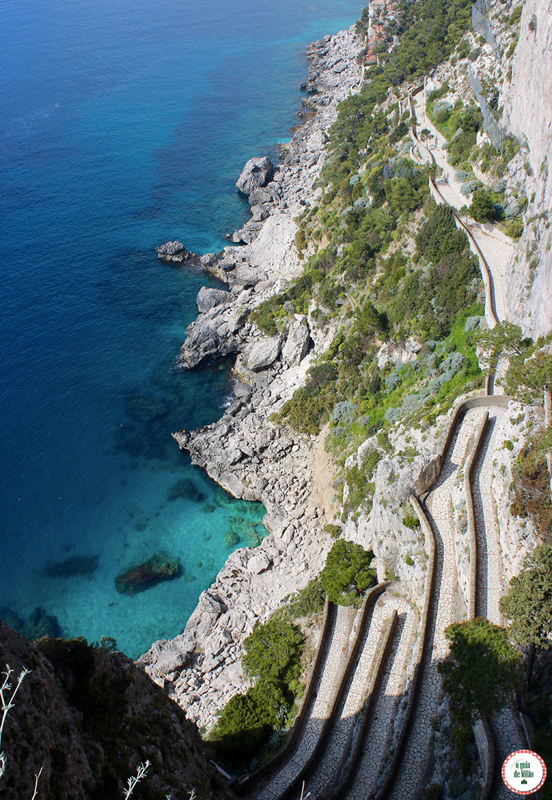 O que ver na Ilha de Capri Itália O passeio dos namorados a romantica via Krupp
