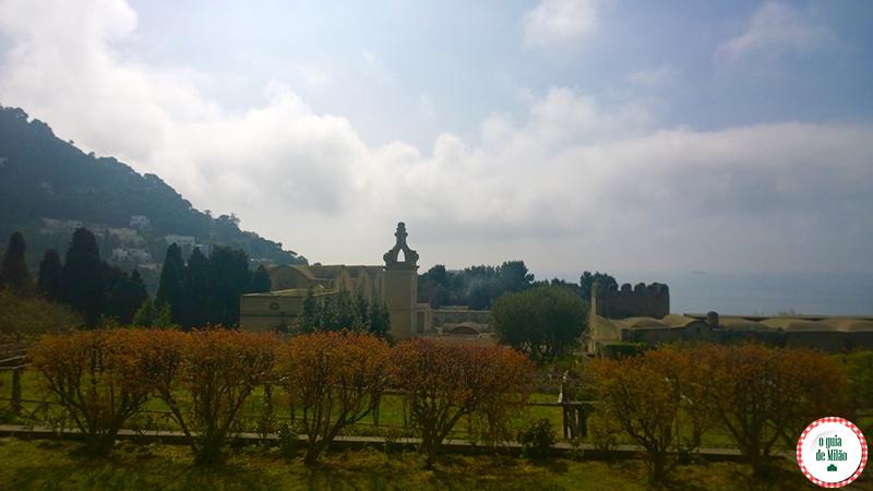 Capri na Itália Certosa de San Giacomo