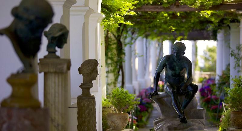 Pontos turísticos vila San Michele Anacapri