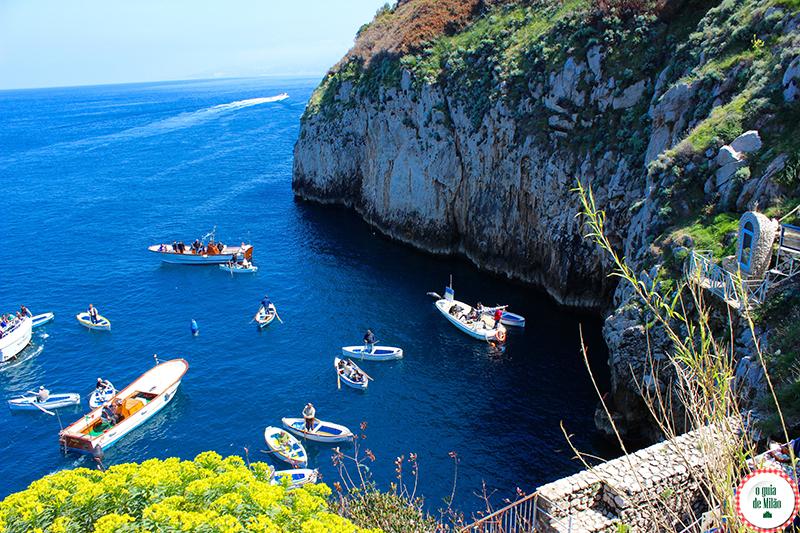 Pontos Turísticos e Culturais da Itália Capri e Anacapri