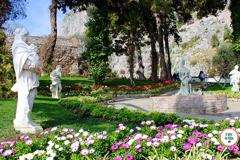 O jardim de Augusto