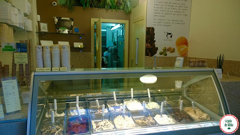 Dica de sorveterias em Milão