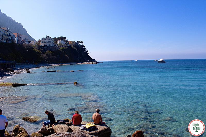 Turismo de luxo em Capri