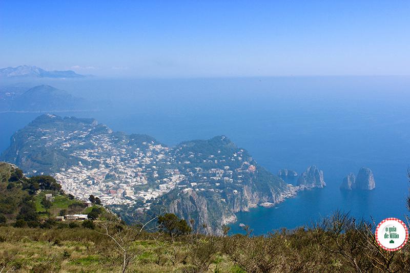 Ilha de Capri de Napoli
