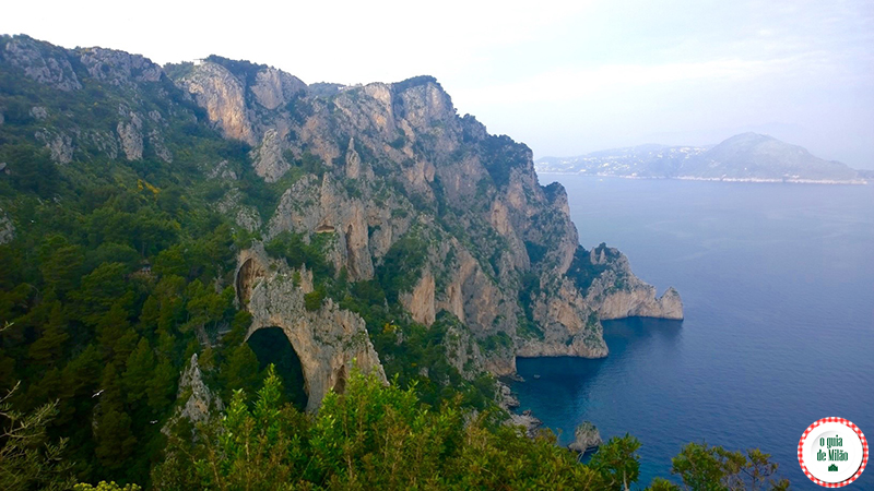 O Arco Naturale da Ilha de Capri