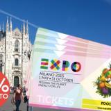 como comprar o bilhete para a Expo Milão 2015