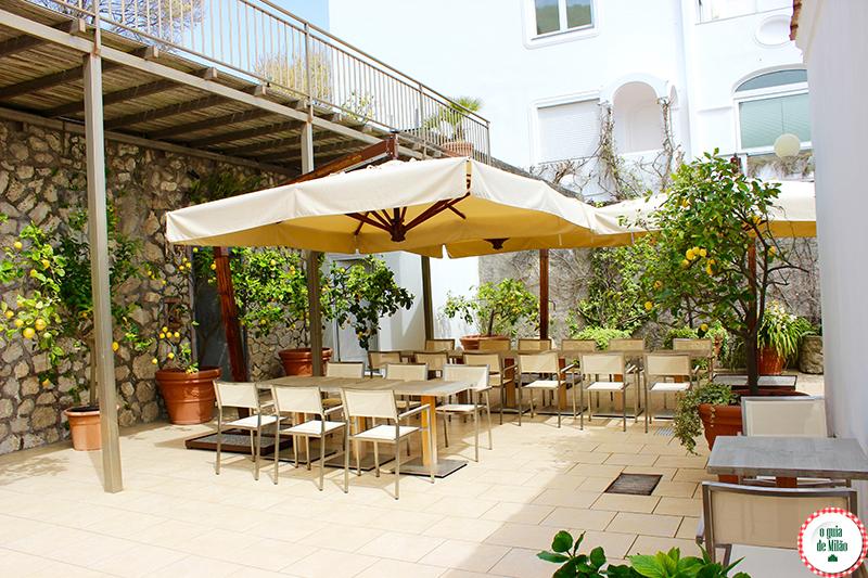 onde dormir em Capri Hotel Canasta