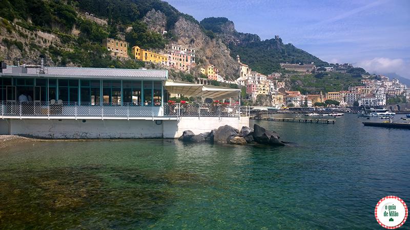 Amalfi O que fazer na costa Amalfitana em Itália