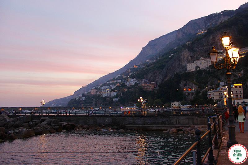 Quando ir a Costa Amalfitana