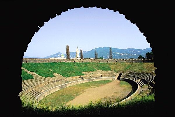 Anfiteatro Pompeia Nápoles