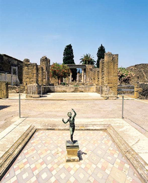 Casa do fauno Pompeia Nápoles