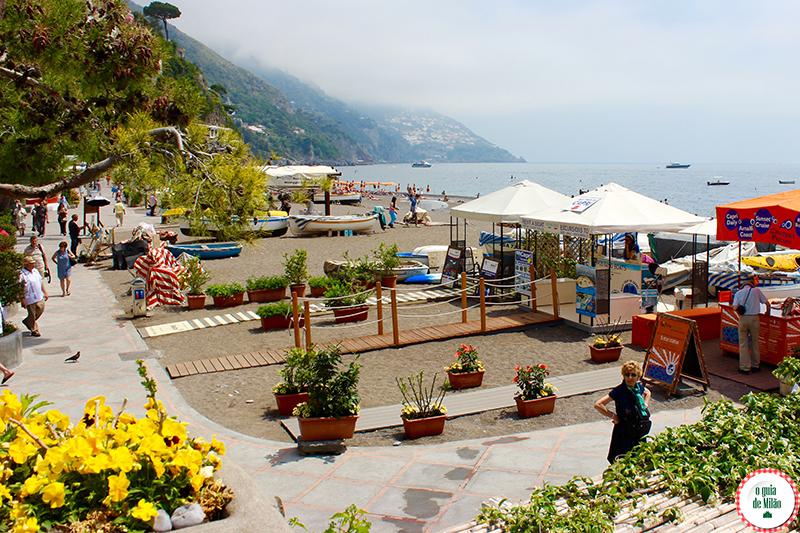 Como se vestir na Costa Amalfitana