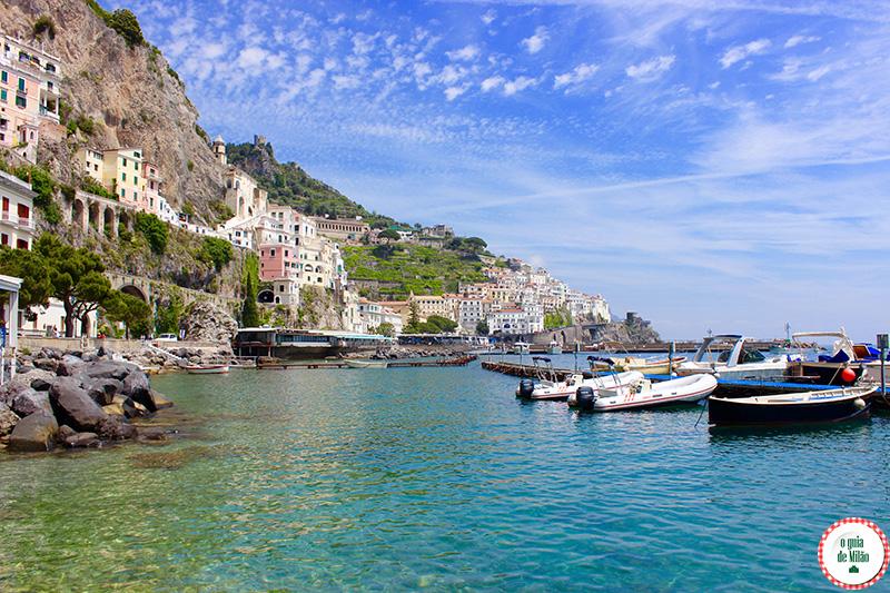 Como chegar na cidade de Amalfi