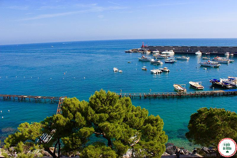 Como ir na Costa Amalfitana a cidade de Amalfi