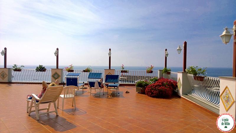 Dicas de Amalfi Hotel barato na costa amalfitana Hotel La Bussola