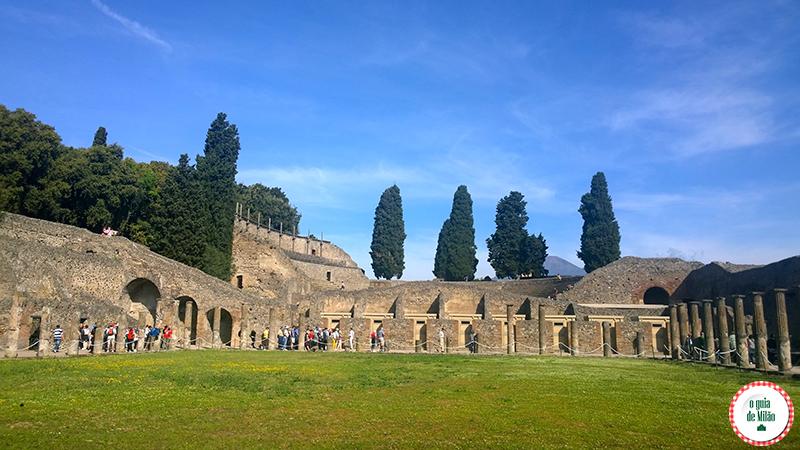 Dicas de Pompeia Nápoles Como ir de Roma a Pompeia