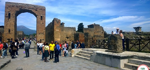 Escavações de Pompeia Nápoles Erupção Vesúvio