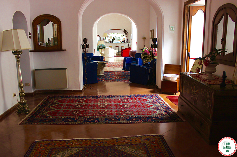 Hotéis de luxo na Itália Hotel Poseidon em Positano Costa Amalfitana