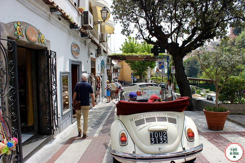 Hoteis na costa amalfitana Hotel Poseidon em Positano Nápoles