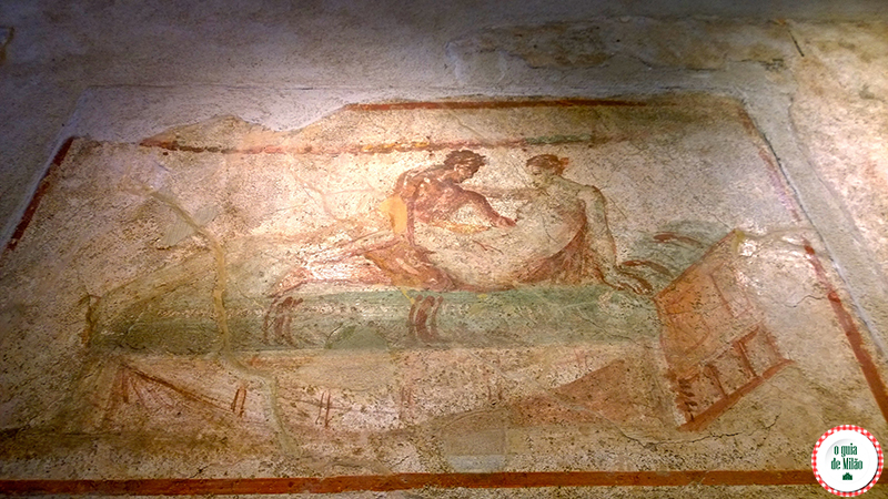 Lupanar Pompeia Nápoles