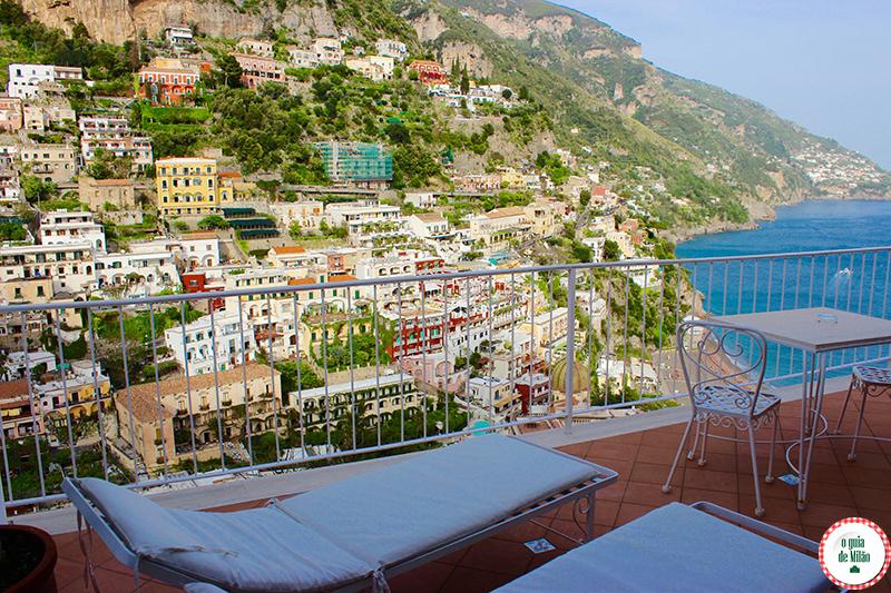 Melhores hotéis em Positano na costa amalfitana
