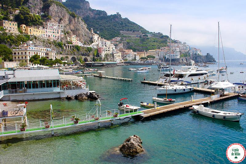 O estratégico hotel La Bussola em Amalfi