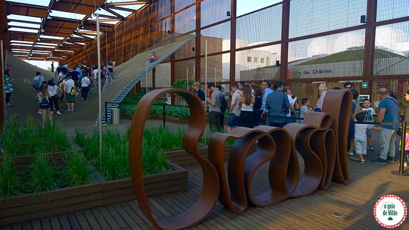 O pavilhão do Brasil na Expo Milão 2015
