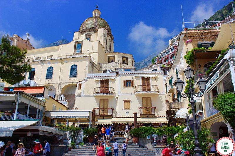 O que fazer em Positano Costiera Amalfitana Patrimônio Mundial da Humanidade pela UNESCO