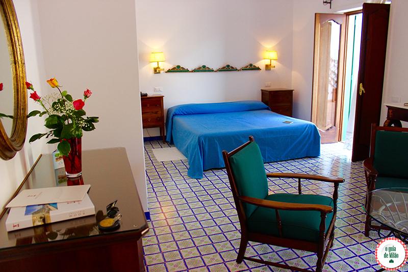 Onde se hospedar em Positano Hotel Poseidon