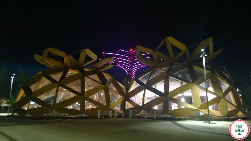Os restaurantes da expo Milão