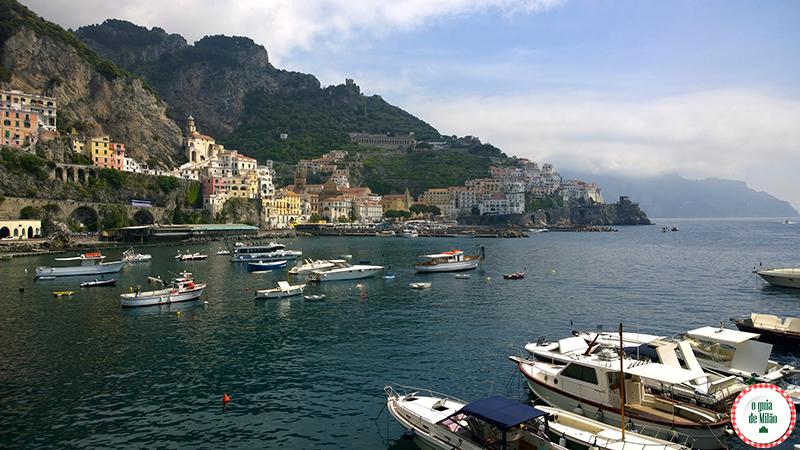 Passeio de barco de Amalfi a Capri