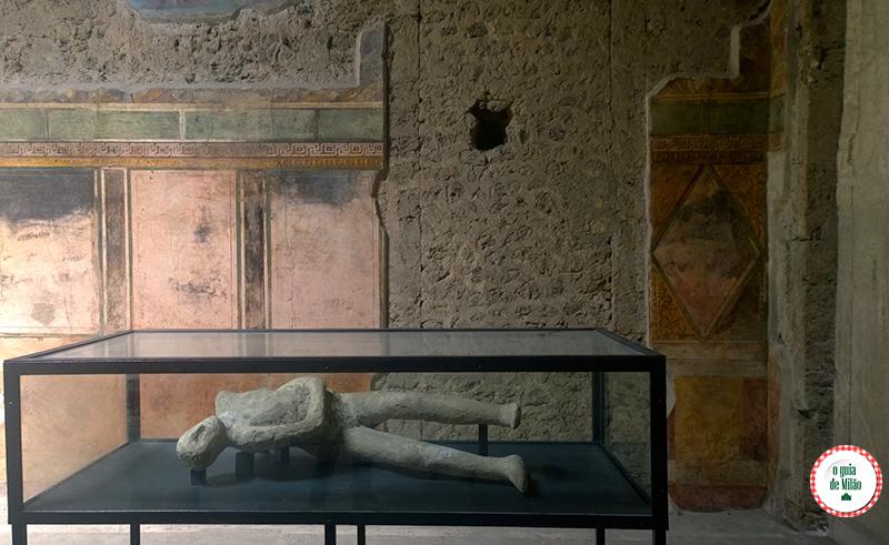 Pompeia Vítimas erupção do Vesúvio
