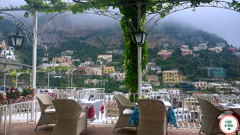 Positano Pontos turísticos na costa Amalfitana