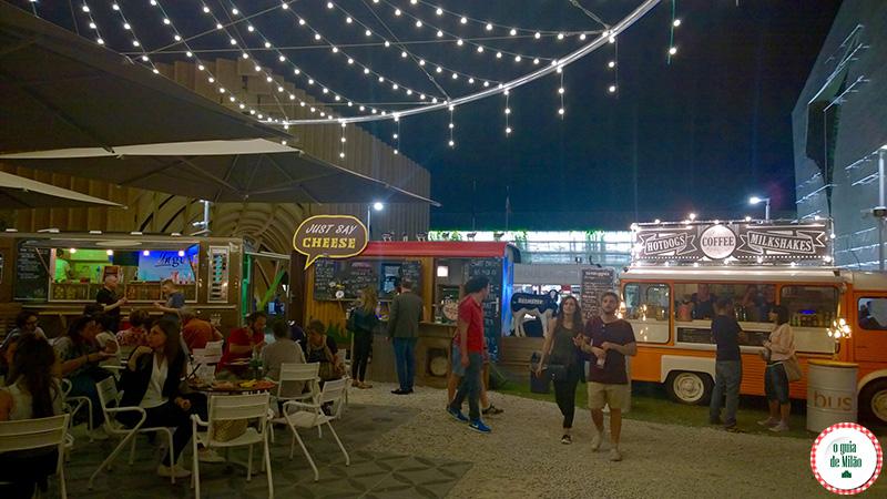 Pavilhão da Holanda na Expo Milão Onde comer na Expo