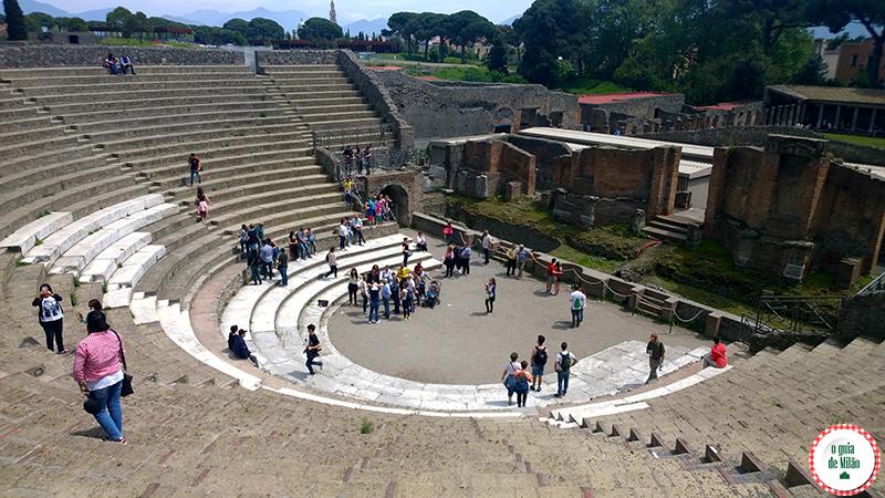 Teatro grande Pompeia Nápoles