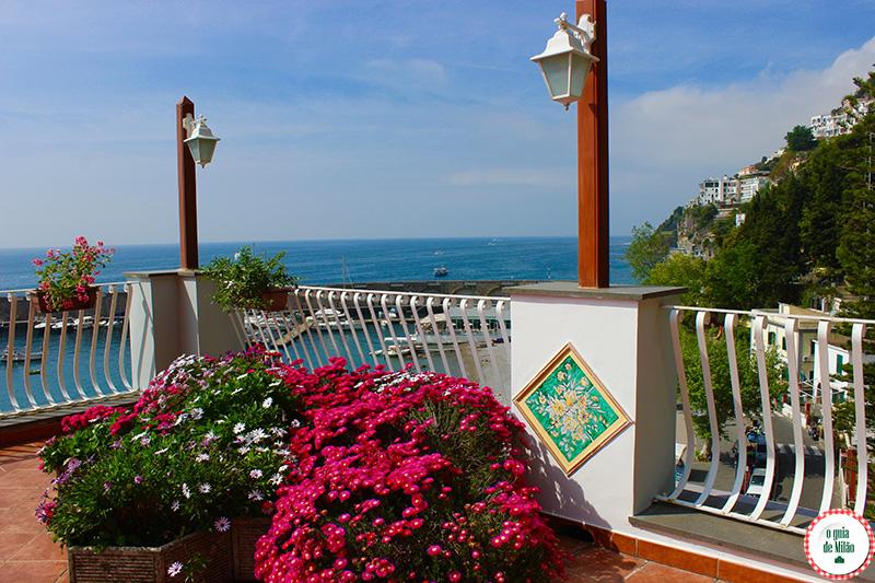 Tudo sobre a costa Amalfitana Hotel La Bussola