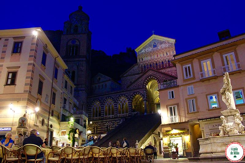 melhor epoca para visitar a cidade de Amalfi na Itália