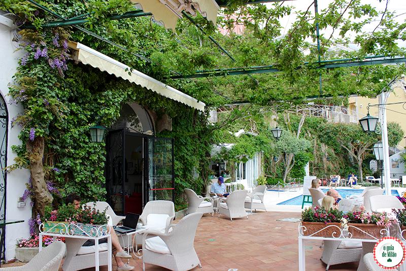 dicas de hotéis em Positano Nápoles em Itália Hotel Poseidon
