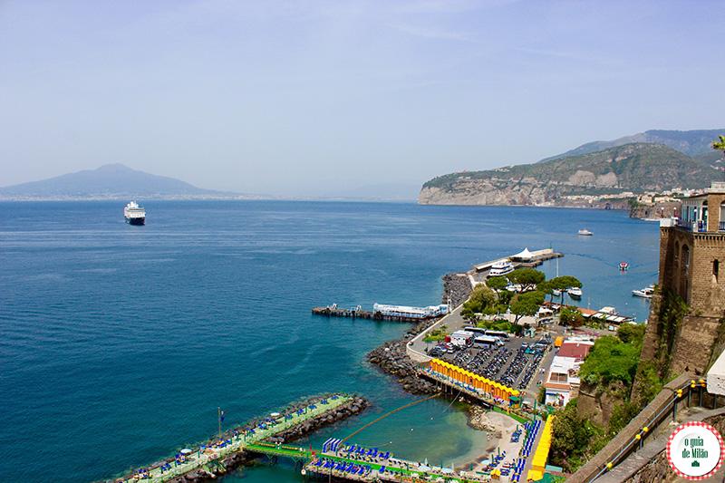 turismo na Itália: Sorrento