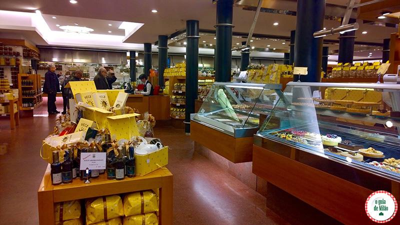 Delicatessen em Milão