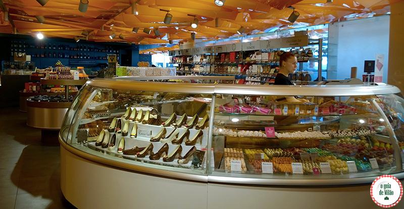 Lojas gourmet em Milão