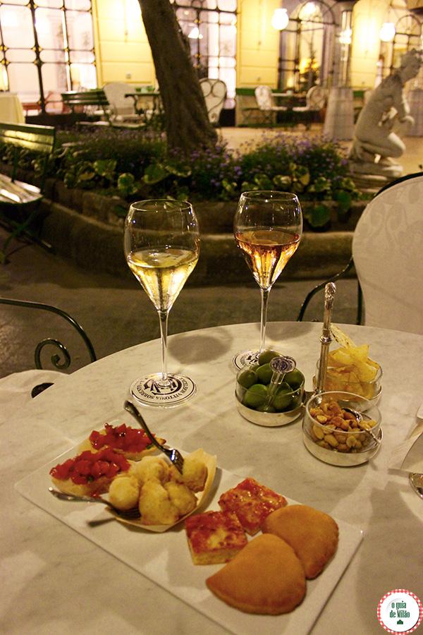 Restaurante uma estrela Michelin na Itália: o Terrazza Bosquet em ...